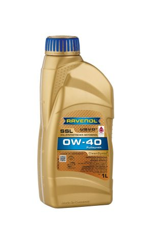 RAVENOL Super Synthetik Öl SSL SAE 0W-40 1 L
