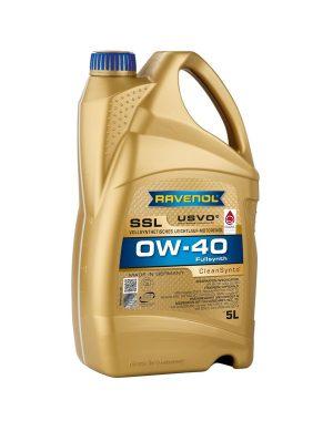 RAVENOL Super Synthetik Öl SSL SAE 0W-40 5 L