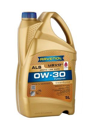 RAVENOL Arctic Low SAPS ALS SAE 0W-30 5 L