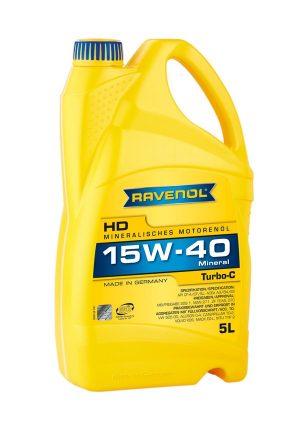 RAVENOL Turbo-C HD-C SAE 15W-40 5 L