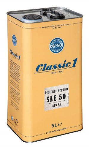 RAVENOL Oldtimer Regular SAE 50 API SA 5 L