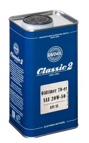 RAVENOL Oldtimer 70-er SAE 20W-50 API SE 1 L