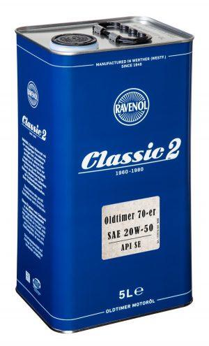 RAVENOL Oldtimer 70-er SAE 20W-50 API SE 5 L