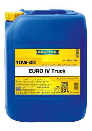 RAVENOL EURO IV Truck SAE 10W-40 20 L