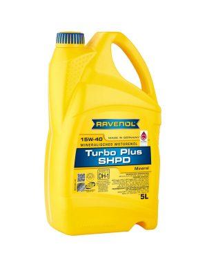 RAVENOL Turbo plus SHPD SAE 15W-40 5 L