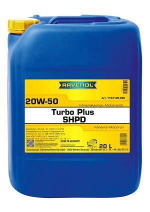 RAVENOL Turbo Plus SHPD SAE 20W-50 20 L