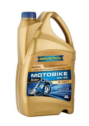 RAVENOL Motobike 4-T Ester 5W-40 4 L
