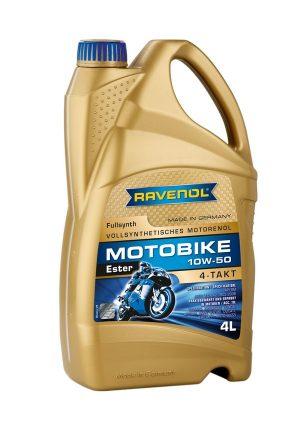 RAVENOL Motobike 4-T Ester 10W50 4 L