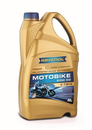 RAVENOL Motobike V-Twin 20W-50 Fulls. 4 L