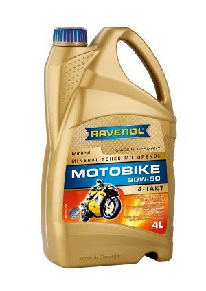 RAVENOL Motobike 4-T Mineral 20W-50 4 L