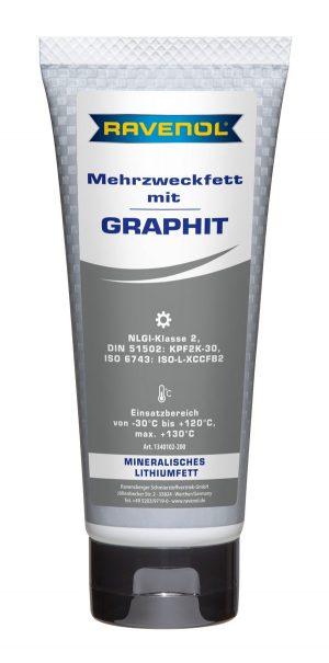 RAVENOL Mehrzweckfett mit Graphit 200 g Tube